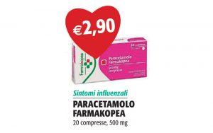Paracetamolo Farmakopea 20 Compresse