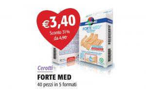 Cerotti Forte Med 40 pezzi