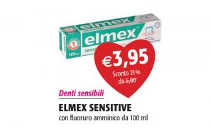 Elmex Sensitive con Fluoro Amminico da 100 ml