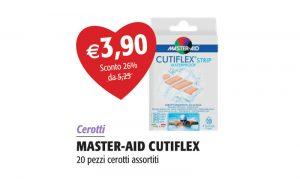 Master Aid Cutiflex 20 pezzi