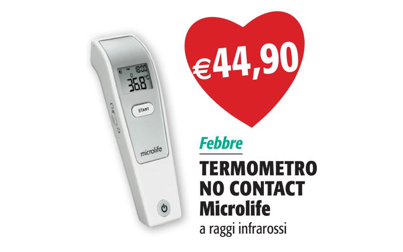 Termometro No Contact a Raggi Infrarossi